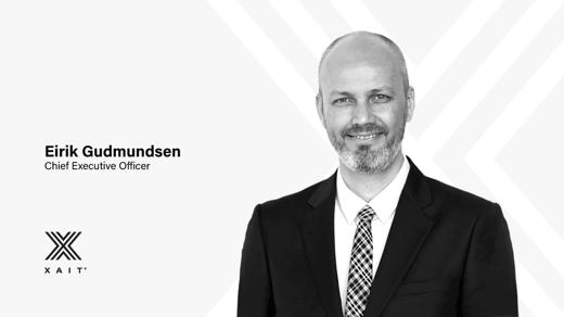 Eirik Gudmundsen has been appointed new CEO of Xait