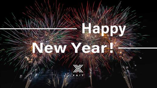 Best wishes for an Xaiting New Year!