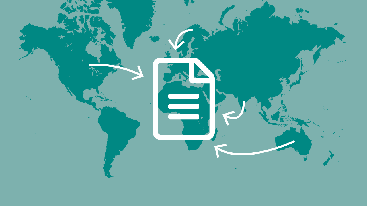 How to efficiently handle document collaboration across regions
