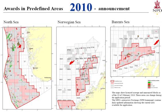 Awards in predefined areas 2010 | @XaitPorter