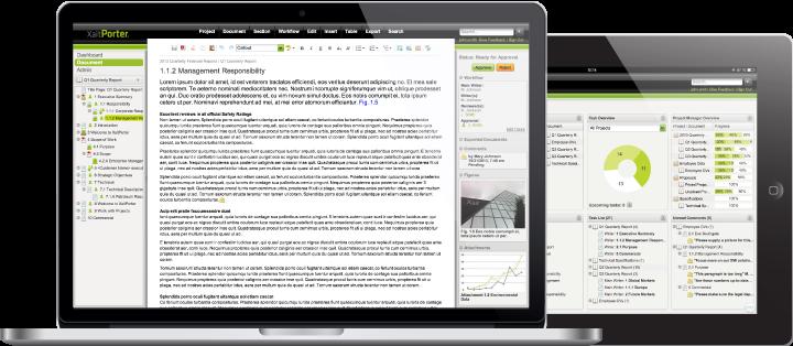 XaitPorter on Laptop and Tablet