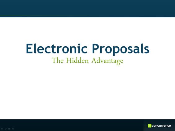 Presentation the hidden advantages of electronic proposals | @XaitPorter