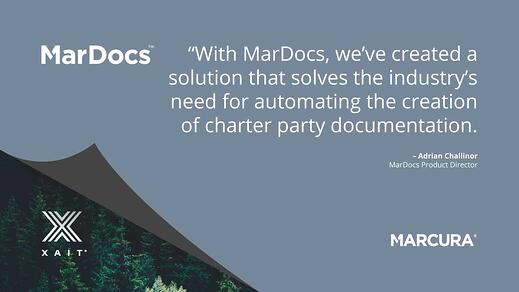 Marcura launches MarDocs with the use of XaitPorter