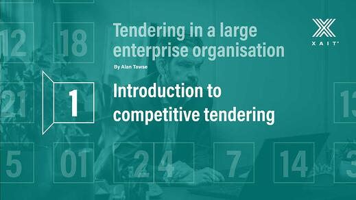 Introduction to competitive tendering