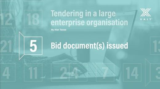 Bid document(s) issued