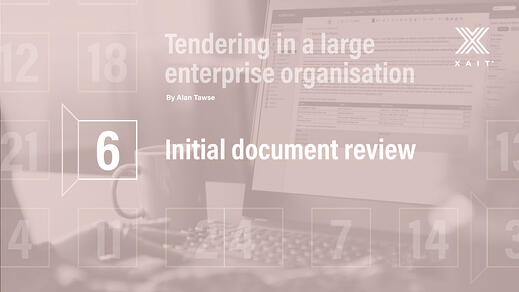 Initial document review