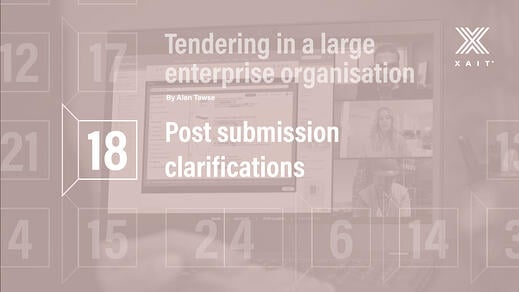 Post-submission clarifications