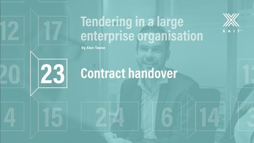 Contract handover