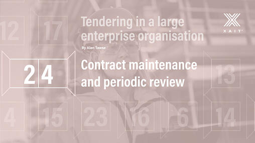Contract maintenance and periodic review