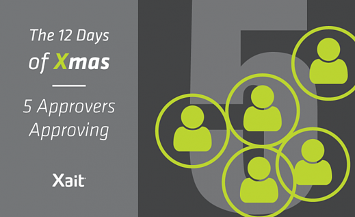 The 12 Days of Christmas: The Fifth Day: 5 Approvers Approving