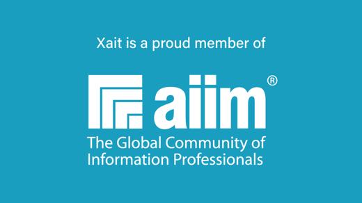 Xait is now a Proud Member of AIIM