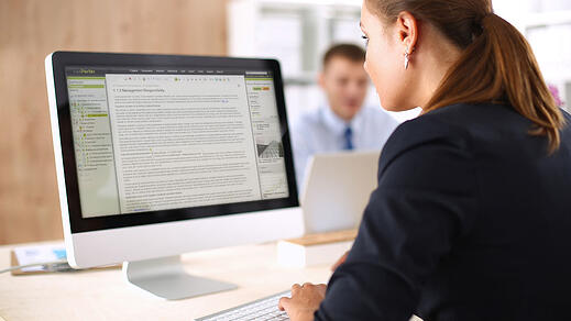 Co-authoring in proposal management software