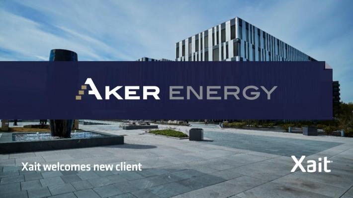 Xait welcomes Aker Energy as a new client