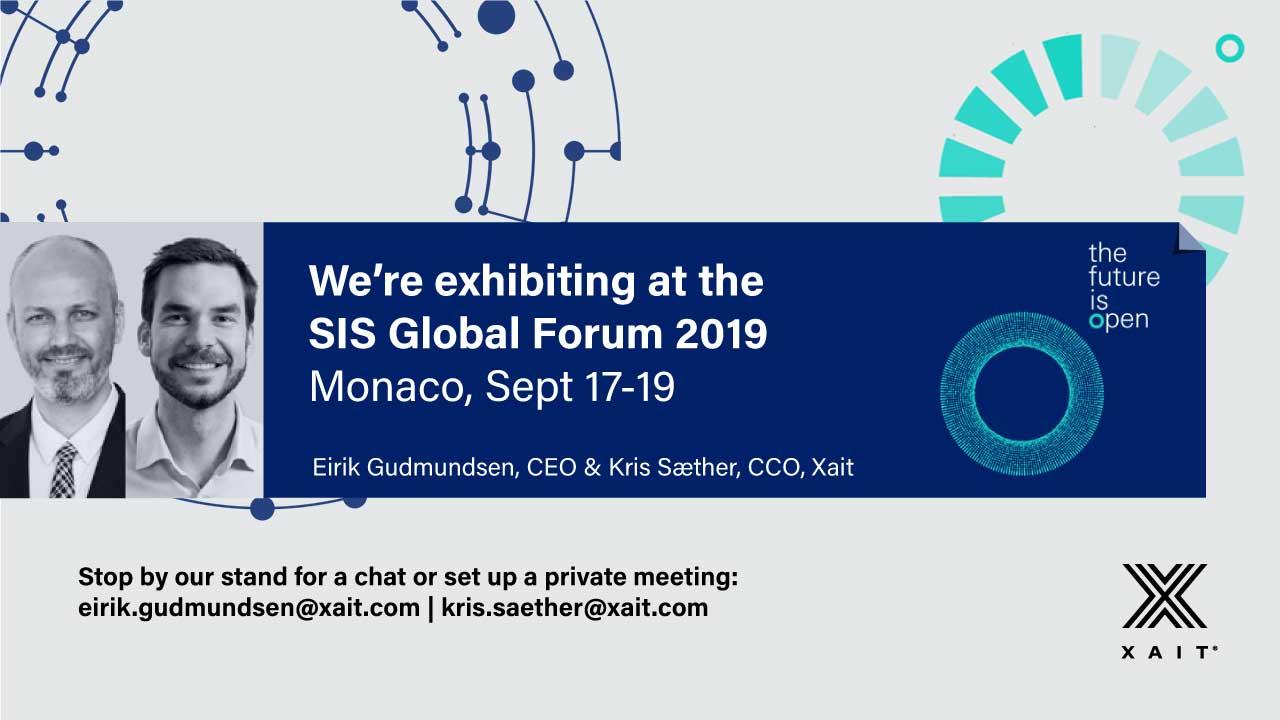We are exhibiting at SIS Global Forum, Monaco