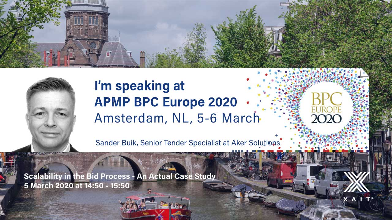 We are exhibiting at APMP BPC Europe, Amsterdam