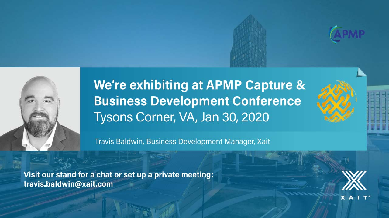 Meet Xait at APMP Capture & Business Development Conference 2020