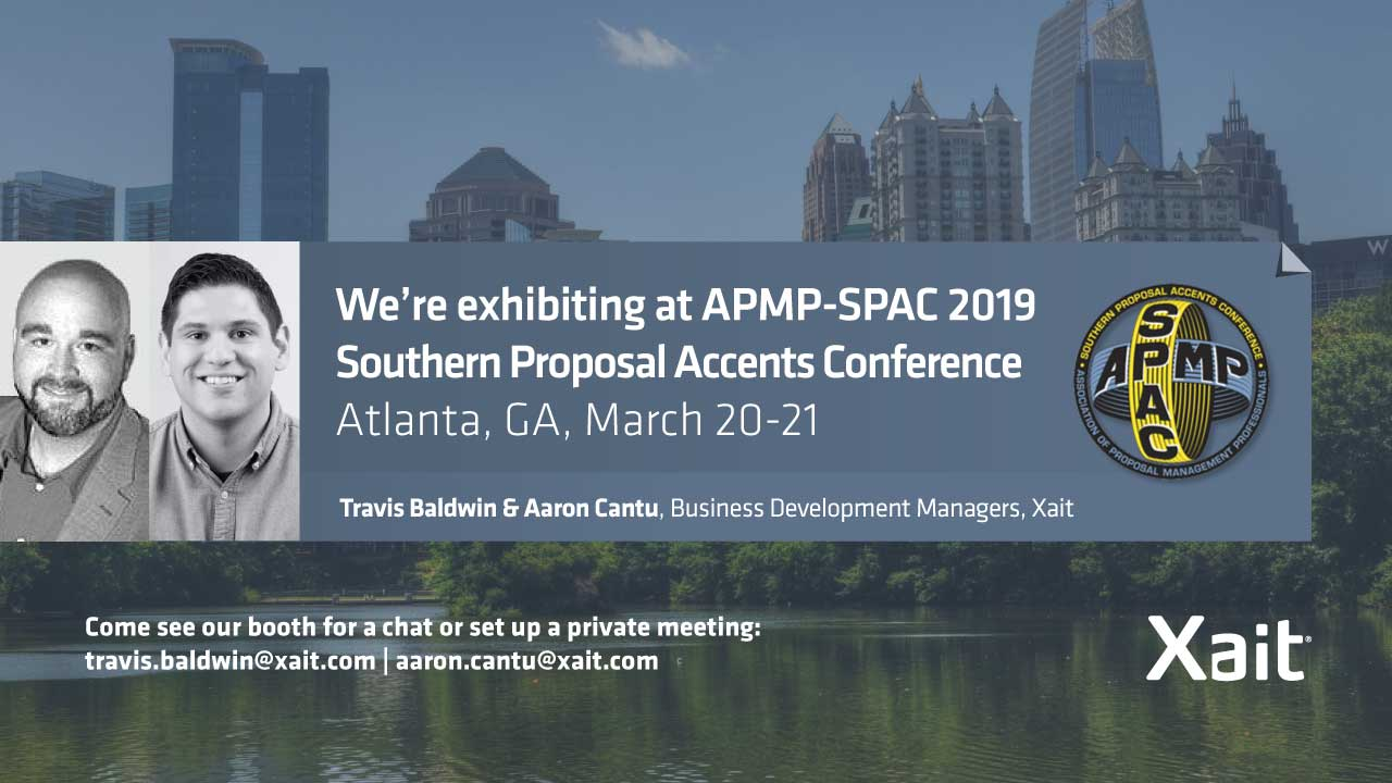 Xait is going to the SPAC 2019 conference in Atlanta