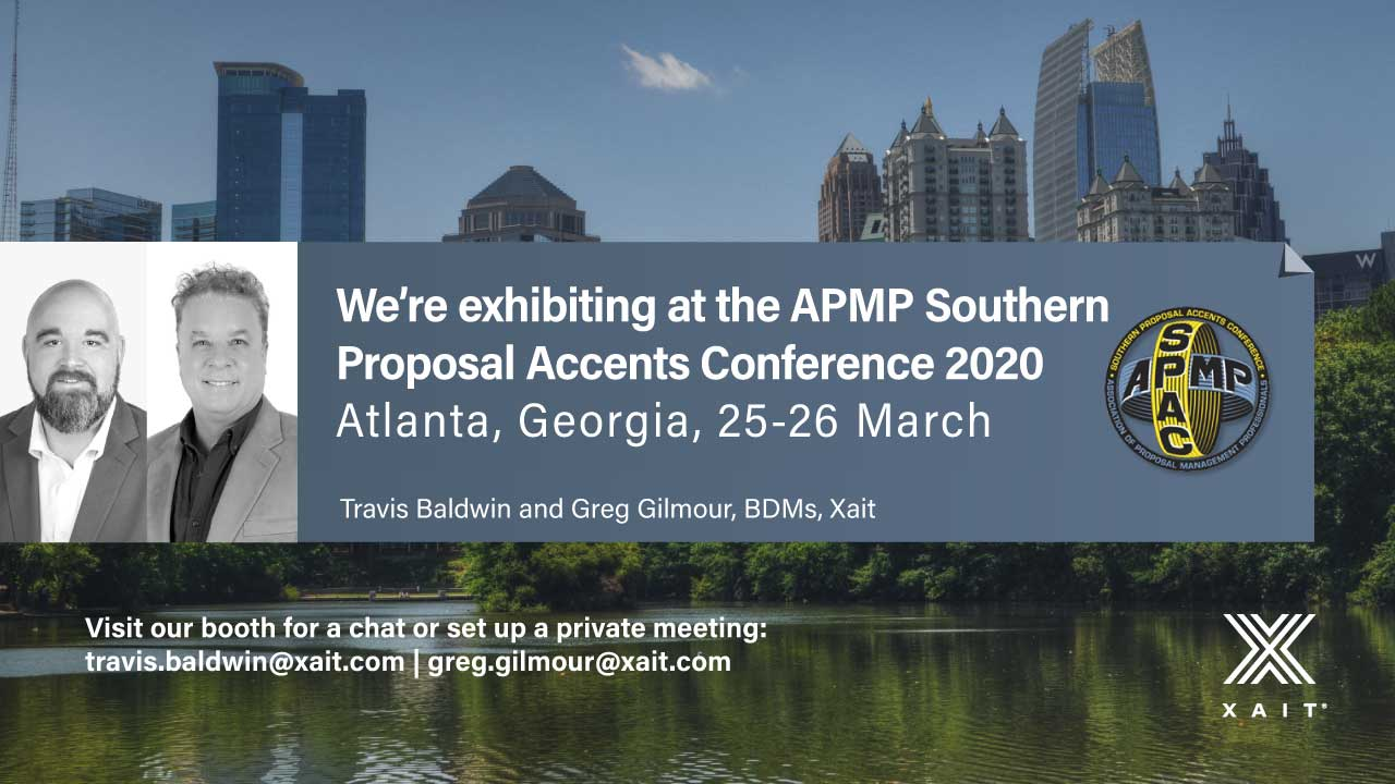 Xait is exhibiting at the SPAC 2020 conference in Atlanta