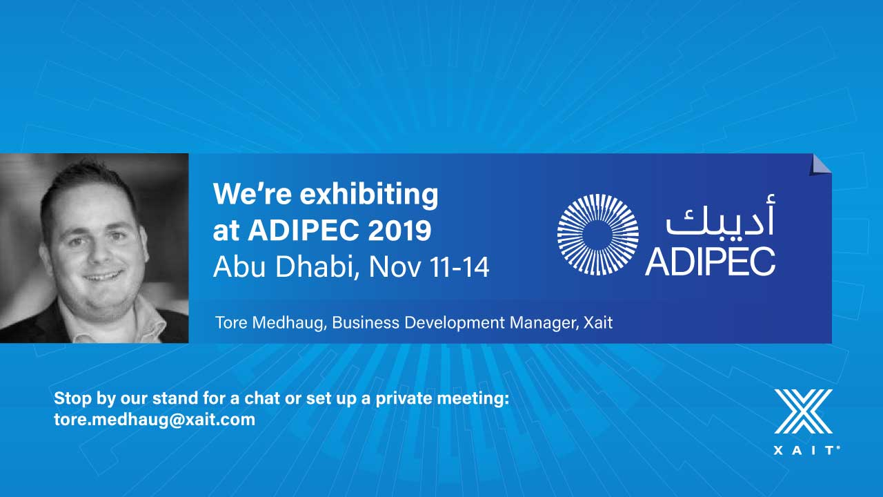 Meet Xait at ADIPEC 2019