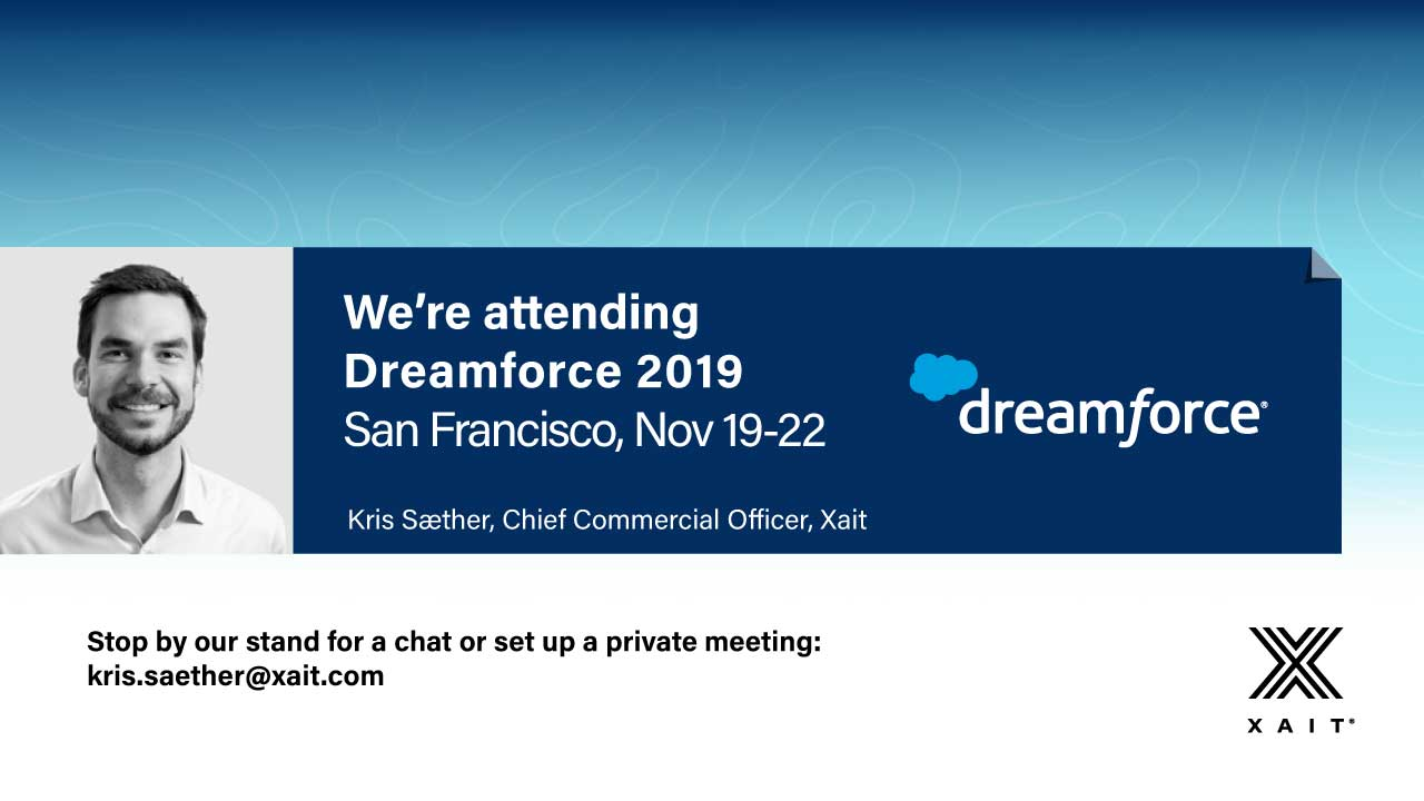Meet Xait at Dreamforce 2019
