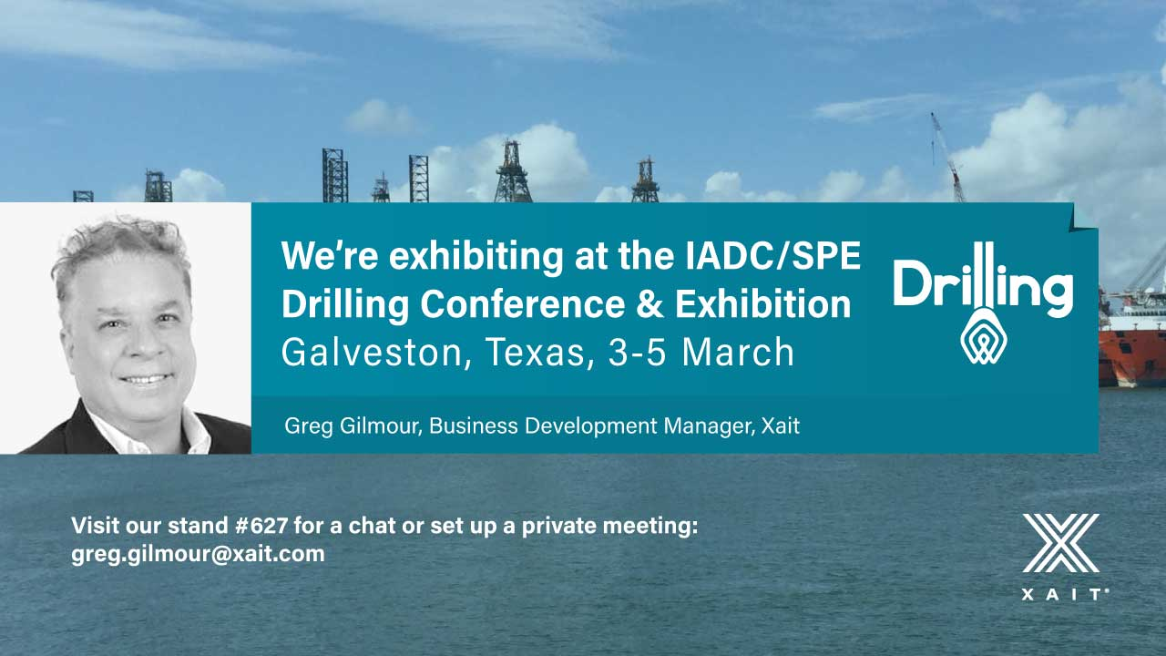 Meet Xait at IADC/SPE Drilling Conference and Exhibition