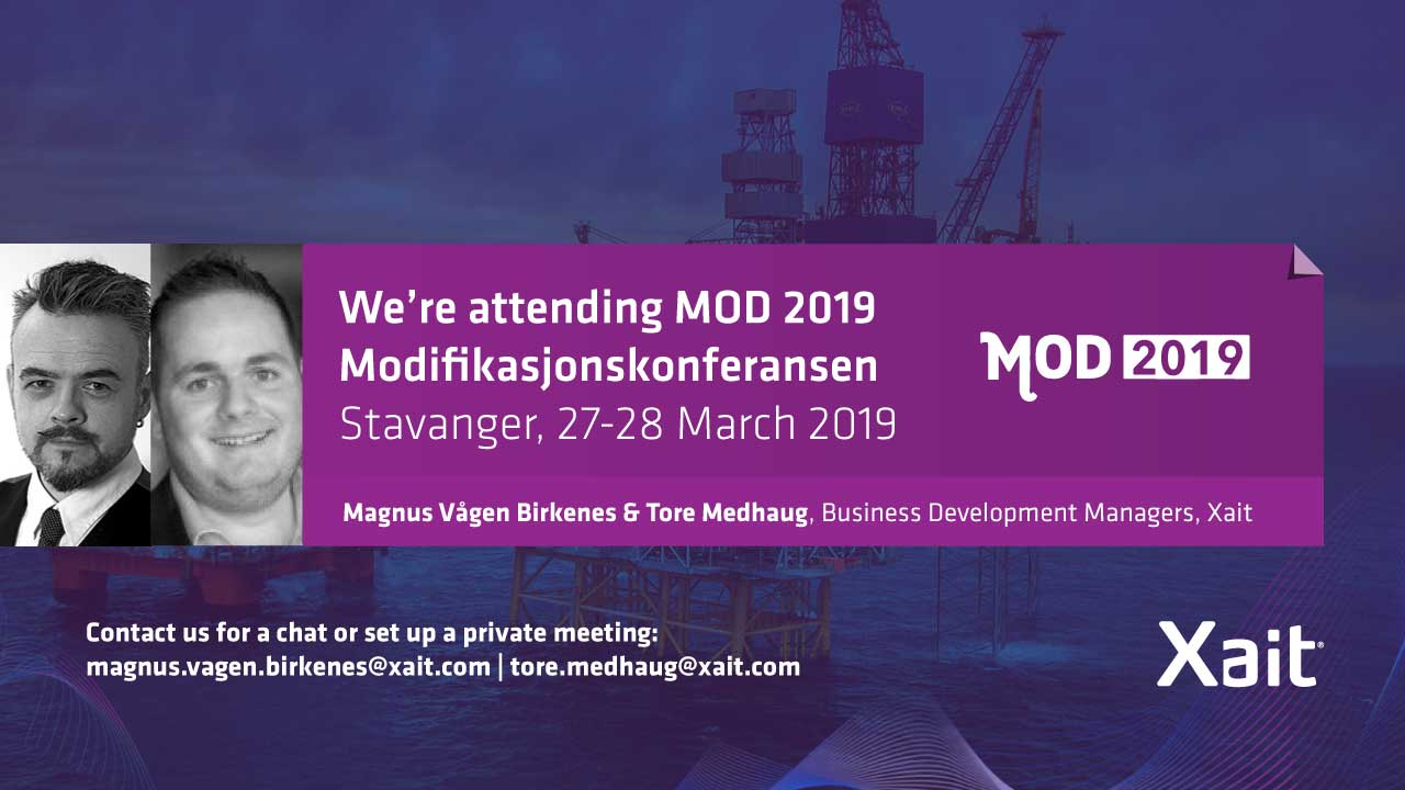 We are exhibiting at MOD2019 in Stavanger