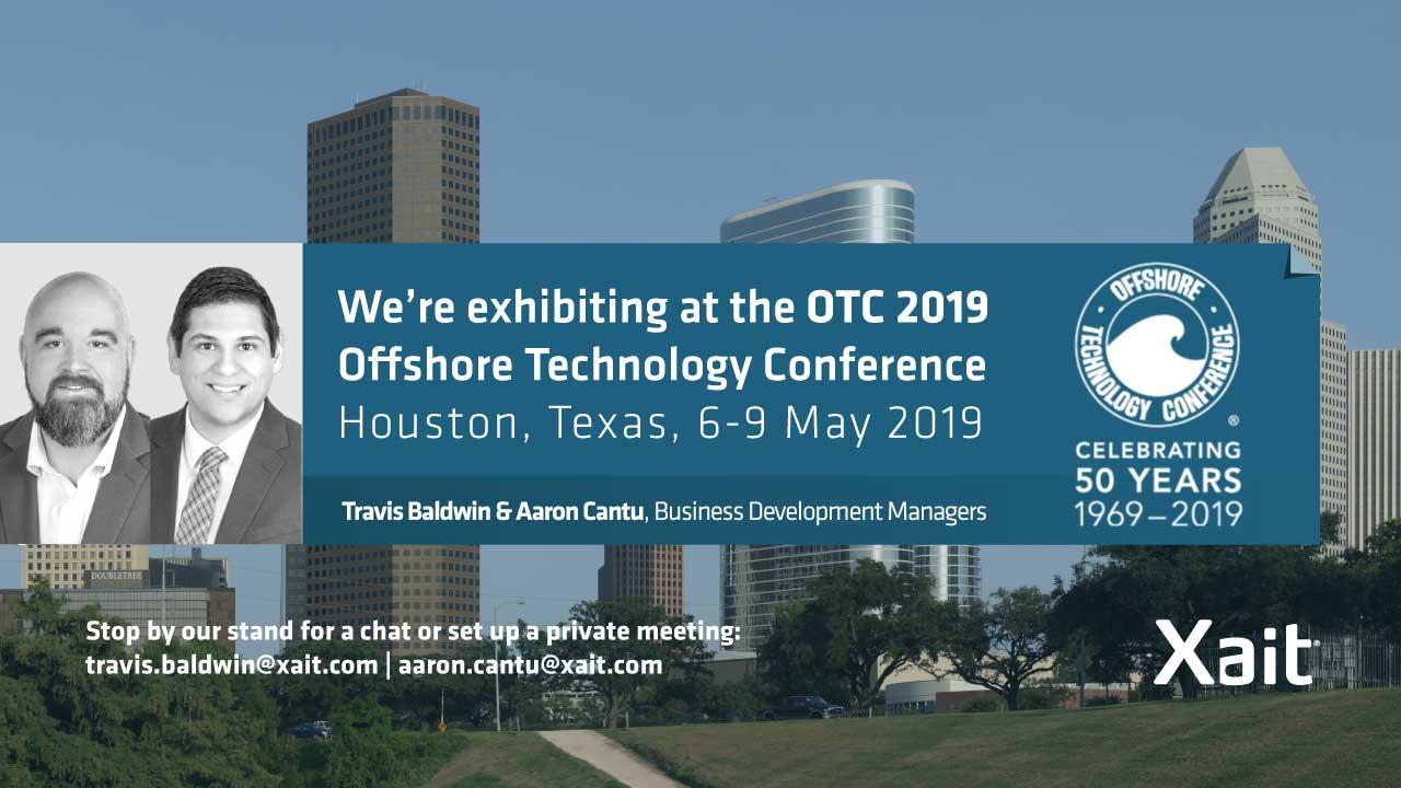 Meet Xait at OTC2019