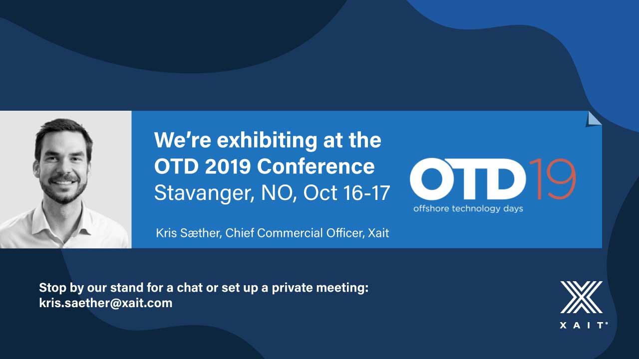 Meet Xait at OTD 2019