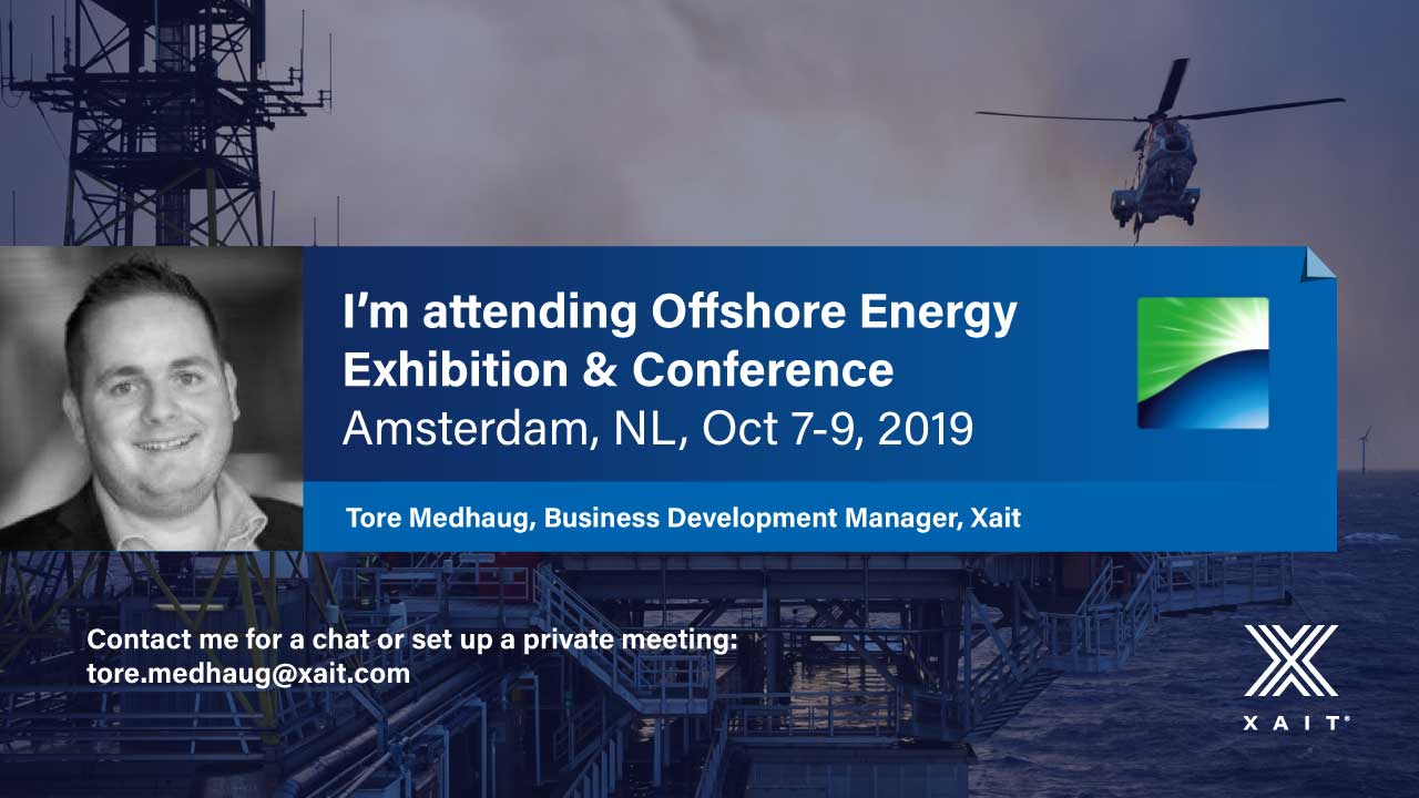 Meet Xait at Offshore Energy 2019