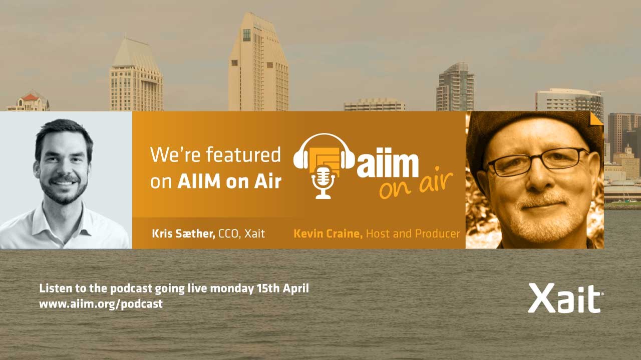 We are featured on the podcast AIIM on Air