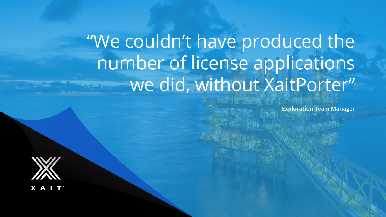 Success stories - Oil companies use XaitPorter to create their most business-critical documents